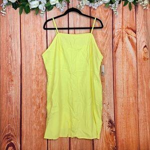 NWT BP. Nordstrom Mini Yellow Sundress 1224P